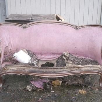 Victorian Love Seat