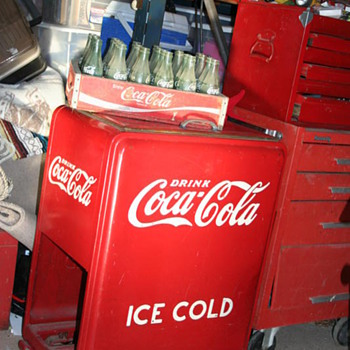 1937 Coco Cola Ice Cooler - Coca-Cola