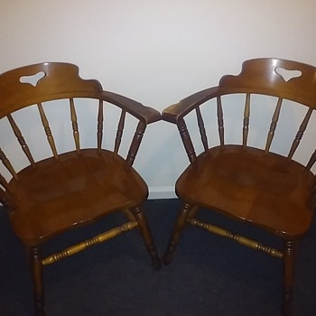 A Pair Of Chairs...