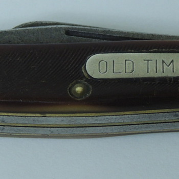 """Old Timer"" Folding Knife/Schrade NY"