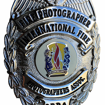 International Fire Photographers Association Badge  - Firefighting