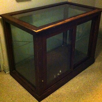 Store display cabinet. - Furniture