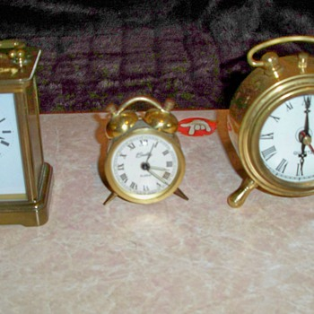 My Vintage Clock Collection - Clocks