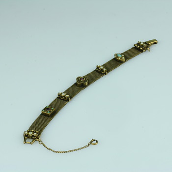 Byzantium style bracelet - Costume Jewelry