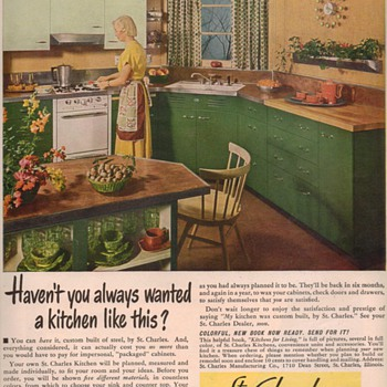 1950 St. Charles Kitchens Advertisement - Advertising
