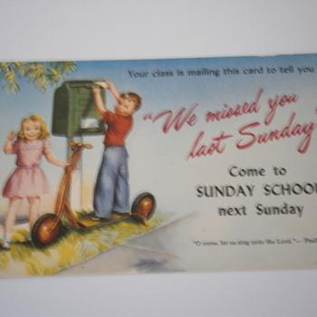 Vintage Postcard  - Postcards