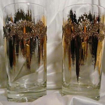 Dazzling Gold Embellished Glassware - Glassware