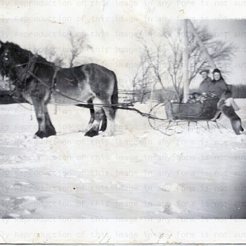 Winter travels circa 1947 - Photographs