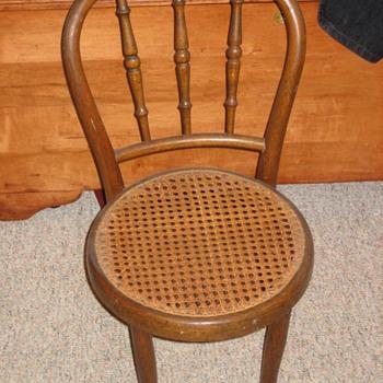 Child's Thonet chair