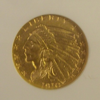 $5 United States Indian Gold Pieces 1908-1933