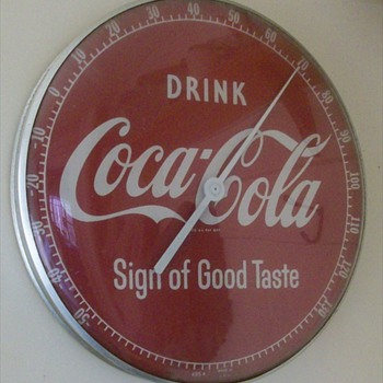 "Our 12"" Coca-Cola Thermometer"