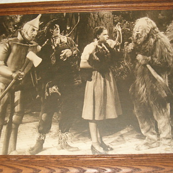 Vintage 1939 Wizard of Oz Picture - Photographs