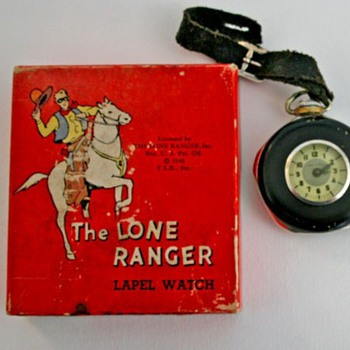 Here's all the 1939 Lone Rangers Together - Pocket Watches