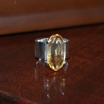 Large Ring with Stone