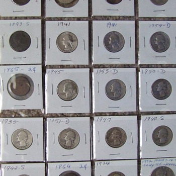 Some Of  My Metal Detector Finds Over The Years - US Coins