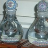 Mystery &quot;B&quot; CANE  Millefiori Ink Bottles