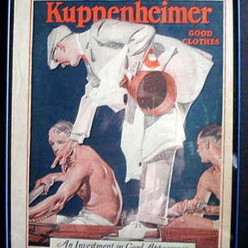 LEYENDECKER AND THE HOUSE OF KUPPENHEIMER