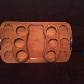 jaxton mfg - wooden tray.... ????  - Kitchen