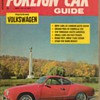 1967 - Foreign Car Guide Magazine