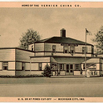 1936 - Vernier China Company - Postcard