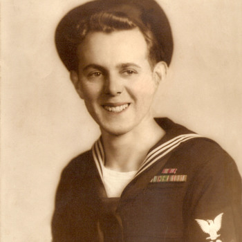 WWII Navy, Rank is Petty Officer 3rd Class - Machinist Mate