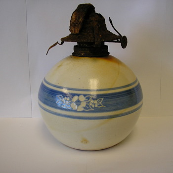 Salt Glazed oil lamp - Lamps