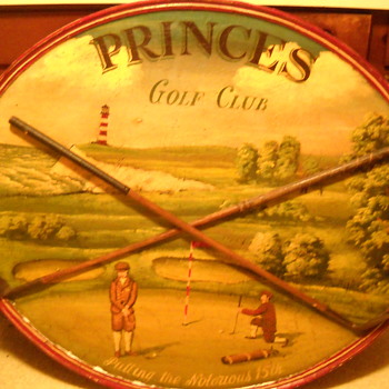 PRINCES Golf Club - Putting the Notorious 15th - Wooden Sign  - Sporting Goods