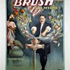 "Original Brush ""The Hindu Basket"" Stone Lithograph Poster"