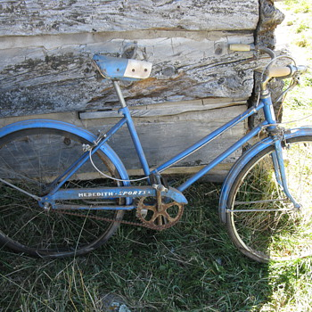 Antique Meredith Bicycle RARE