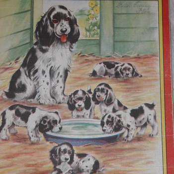 FARM ANIMALS PICTURES Booklet from the 1940&#039;s