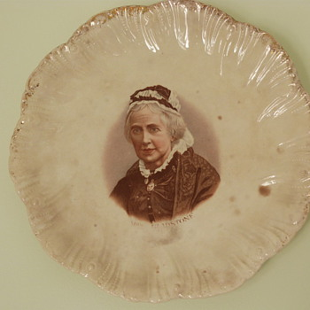 Mrs Gladstone plate