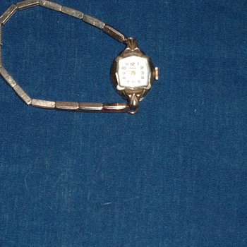 Movado 17 Jewels Vintage Watch - Wristwatches