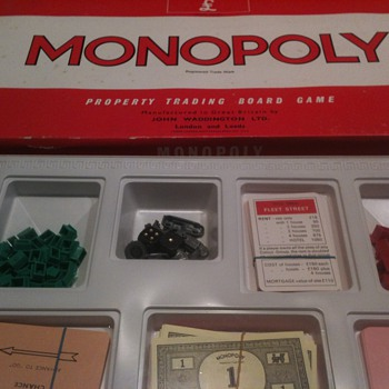 Old Monopoly Game from England
