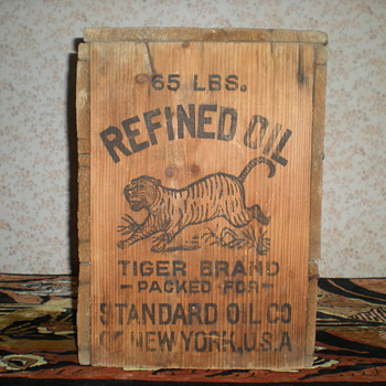 Standard oil New York.