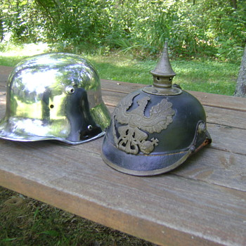 WWI German M1916 helmet. (Read discription)