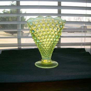 My fenton vase! - Glassware