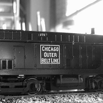 EJ&E #272 VO-660 HO scale - Model Trains