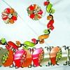 Lisner Parure Fantastic Colors!
