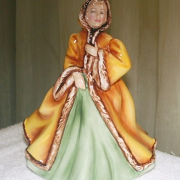 Royal Doulton Rachel 2919 Lady Figurine - Art Pottery