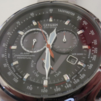 Citizen Ecodrive-chrono-perpetual BL5320-50E - Wristwatches
