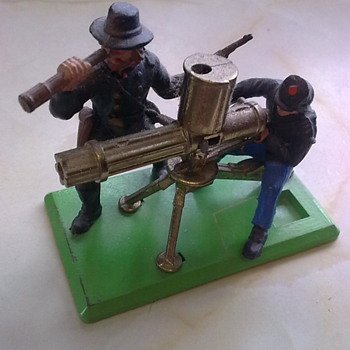 Britains Gatling guns.