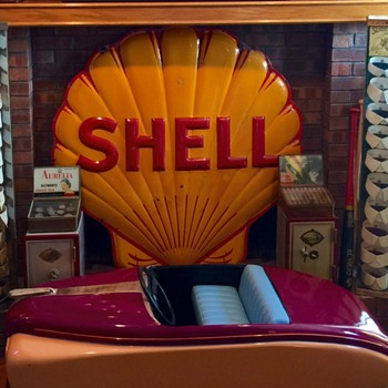 Shell Gasoline Sign