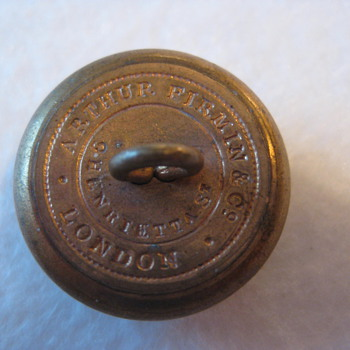 Military Button - Military and Wartime