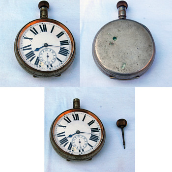 Very Large and Heavy Pocket Watch-----Information request.