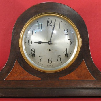Seth Thomas Tambour Mantel Clock, Sentinel #10 - Clocks