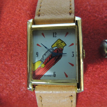 ROCKETEER WRIST WATCH