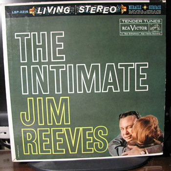 The Intimate Jim Reeves  Jim Reeves