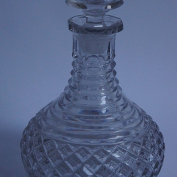 Minature Rodney Decanter - Art Glass