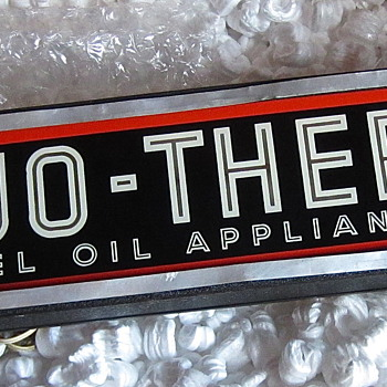 DUO THERM Neon Counter sign 1930s/40S era - Advertising