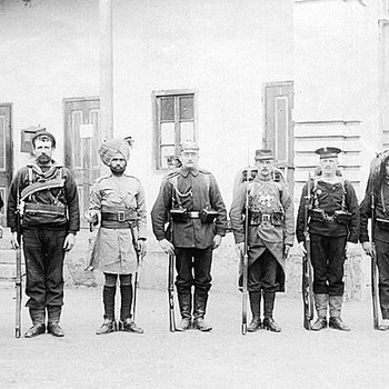 Boxer Rebellion Allied Group Photograph